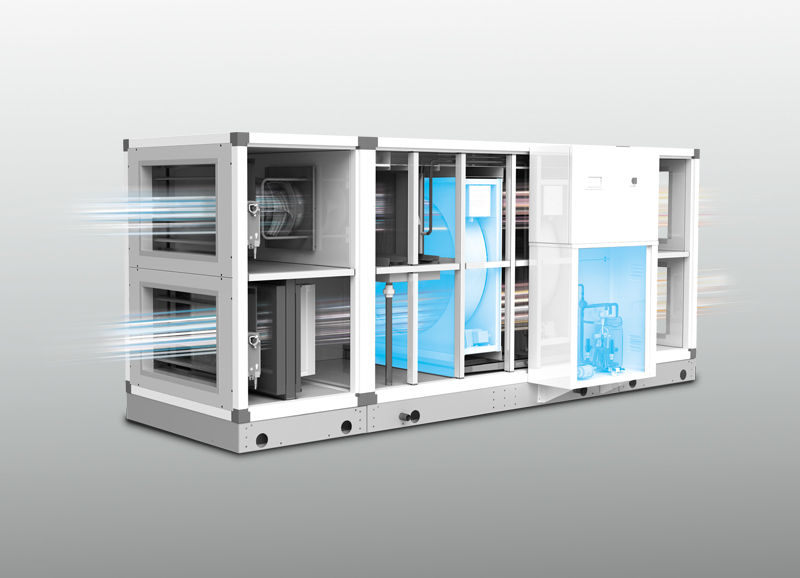 23MK-HP - Packaged heat pump units