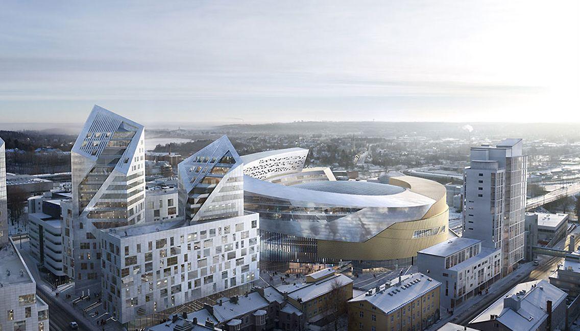 Central Deck Arena (Uros Live)   Finland